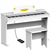 "PIANO DIGITAL INFANTIL  RINGWAY"" ARTESIA FUN-1 BLANCO"