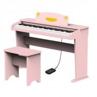 PIANO DIGITAL INFANTIL RINGWAY ARTESIA FUN-1 ROSA