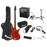 PACK BAJO ELÉCTRICO JUMPSTART KIT BASS IJSR-190 RD
