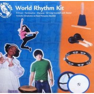 KIT DE PERCUSIÓN PARA NIÑOS LP WORLD BEAT KIDS WBK400