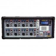 MEZCLADOR AUTOAMPLIFICADO AMS AMP 500 USB