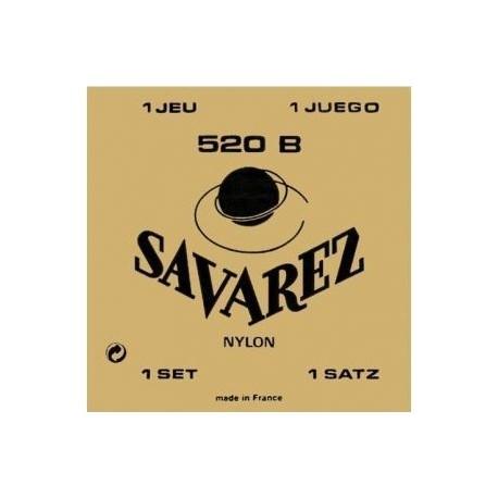 JUEGO DE CUERDAS GUITARRA CLÁSICA SAVAREZ 520-B