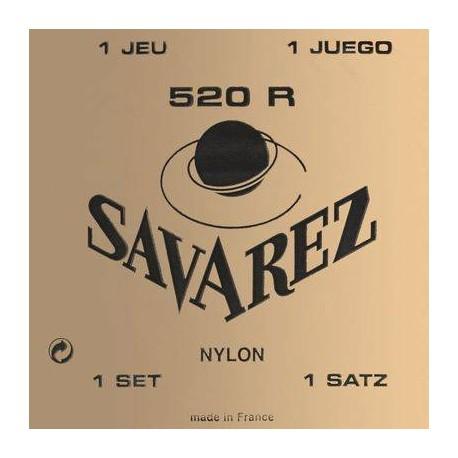 JUEGO DE CUERDAS GUITARRA CLÁSICA SAVAREZ 520-R