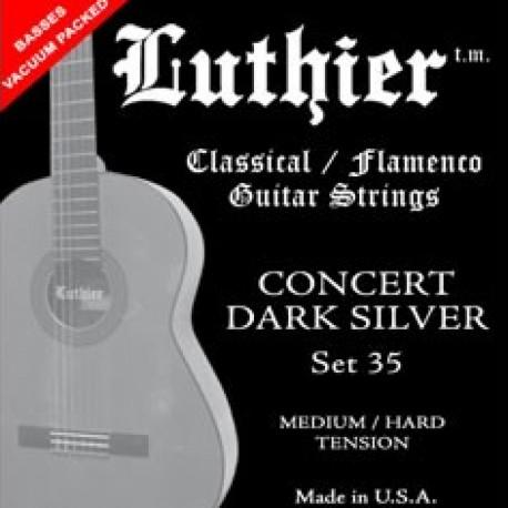 JUEGO DE CUERDAS GUITARRA CLÁSICA/FLAMENCO LUTHIER SET 35