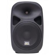 BAFLE AUTO AMPLIFICADO AMS ASP 415-A USB