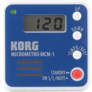 METRÓNOMO MICRÓMETRO DIGITAL KORG MCM-1 BL