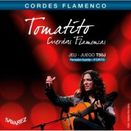 JUEGO DE CUERDAS GUITARRA FLAMENCA SAVAREZ TOMATITO T-50J