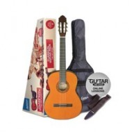 PACK 3/4 GUITARRA CLÁSICA ASTHON CG-34 AM