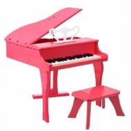 PIANO DE COLA ELÉCTRICO INFANTIL ROSA