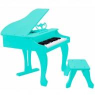 PIANO DE COLA ELÉCTRICO INFANTIL AZUL PP30KBL